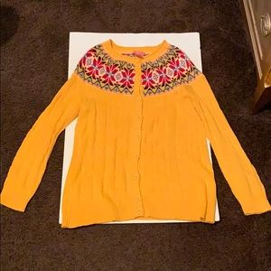 (Women's) button down sweater size S